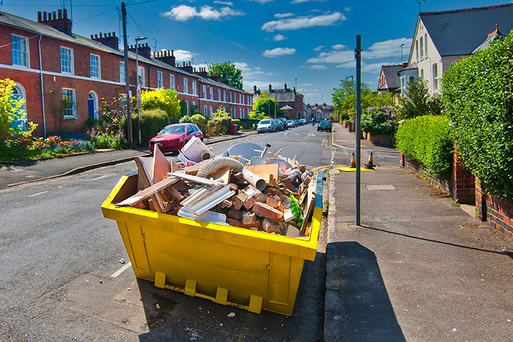 Skip Hire Services in Fitzrovia